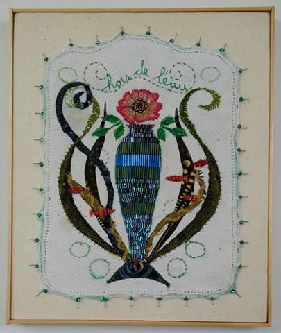 beaded - hand & machine embroidery