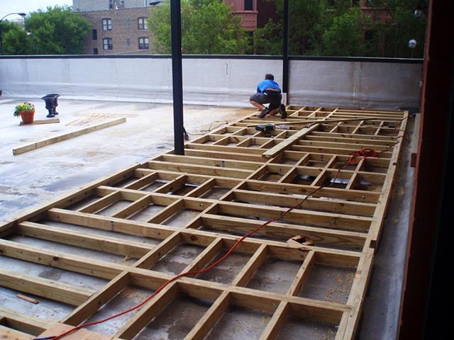 Modular Roof Deck