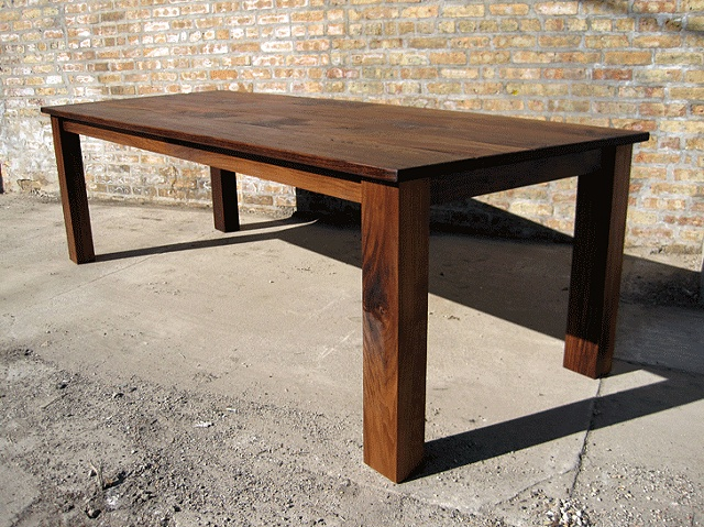Build dining table bench