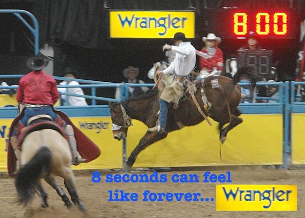"""WRANGLER """"8 SECONDS"""""""