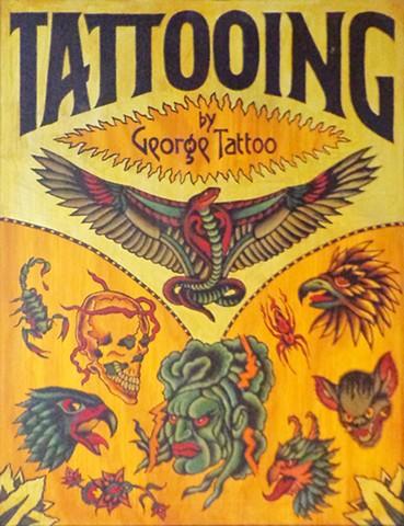 (Tattoo sign)