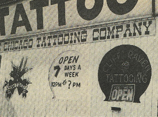 Cliff Raven Tattoo Shop