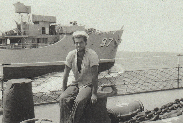 George Klauba, 1958, 6th Fleet Mediterranean.
