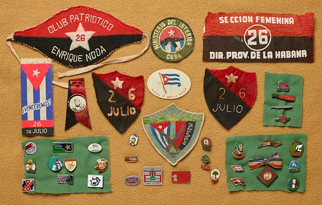 Castro Revolutionary Insignia and Pins