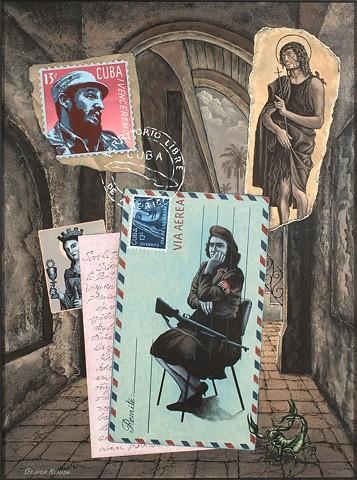 Santeria, Cuba, Castro, U.S. and Cuban relations, militiana