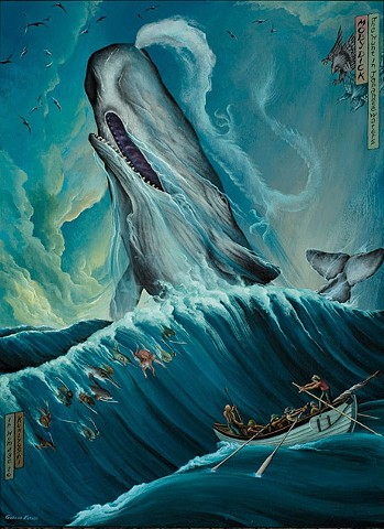 Moby Dick, The Hunt in Japanese Waters