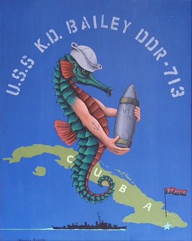 U.S.S. K.D. Bailey DDR-713