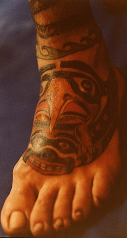 Tattoo Northwest Coast Indian design