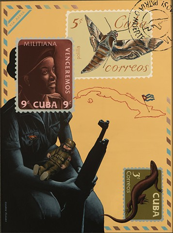 U.S. Cuban relations, Cuban revolution, Castro, Santeria, U.S. Navy