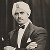 Otto Klauba, George Klauba's father, as Prince Zombi, stage magician