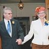 George and Judith, wedding, New Bedford, MA