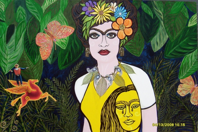 Frida Kahlo Went To Dallas...