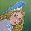If the Bluebird of Happiness (wants to build a nest on your head, let him)