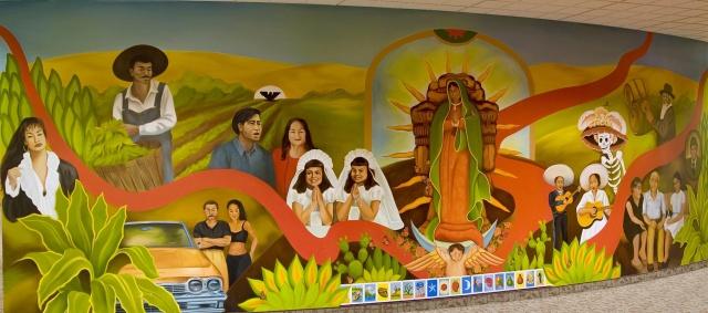 Idaho Hispanic CulturalCenter Mural