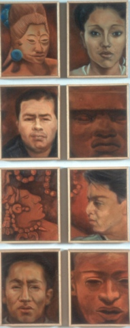 Faces: Contemporary and Indigenous