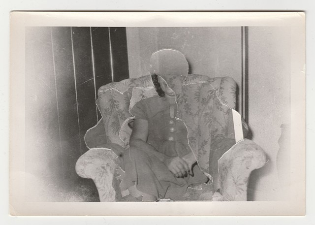 Absences (woman in armchair)