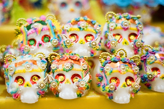 Mexico, Travel, Metepec, Toluca, Sugar Skull, Day of the Dead