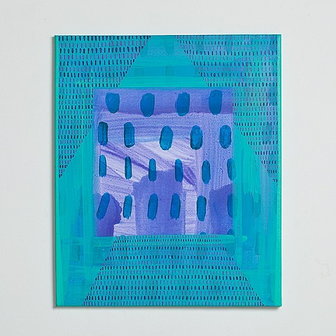 Untitled (purple, green)