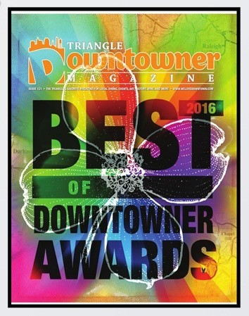 2016 Fine Artist Category, Raleigh Downtowner Magazine