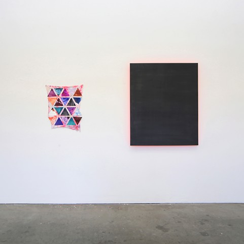 Installation view, Sailor's Warning, Untitled