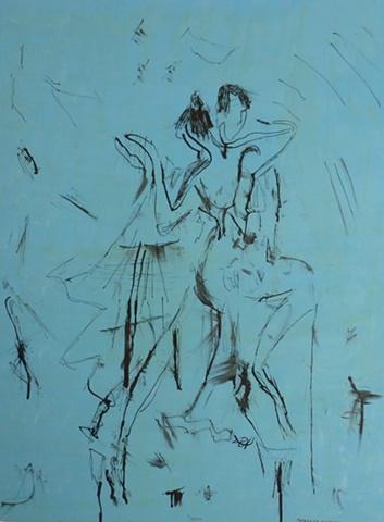 DANCE ME IN BLUE