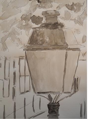 Paris Lampost 10