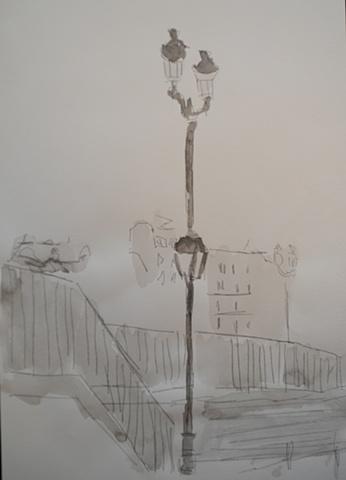 Paris Lampost 12