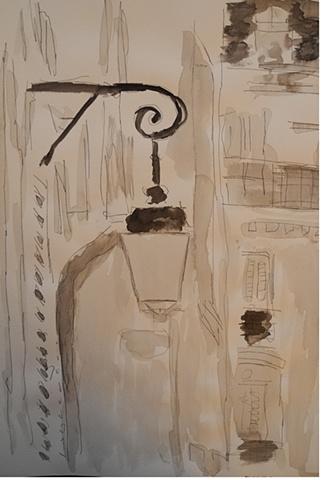Paris Lampost 8
