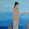 SAREE & BLUE SEA