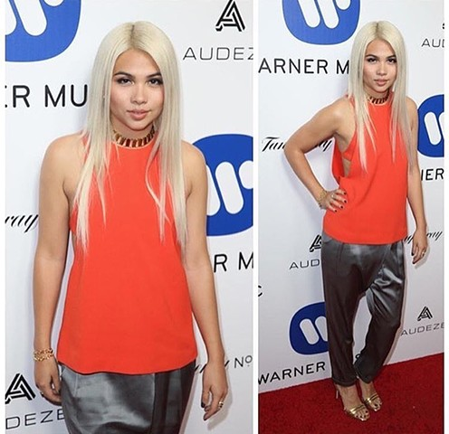 Hayley Kiyoko Grammy Party