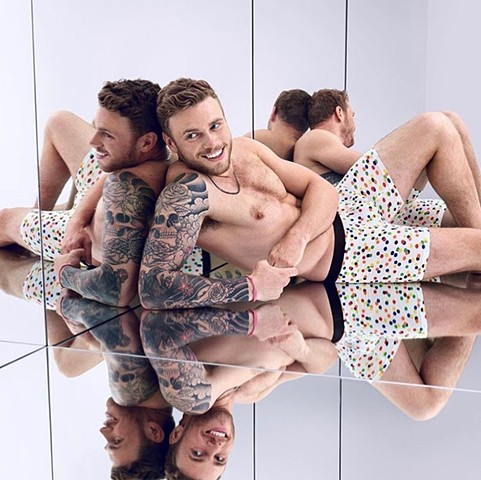 Meundies LGBT Campaign Gus Kenworthy