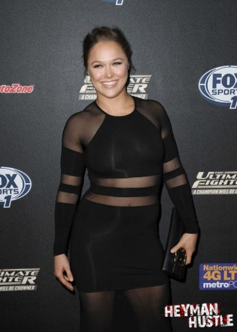 "Ronda Rousey FOX Sports 1's ""The Ultimate Fighter"" Red Carpet"