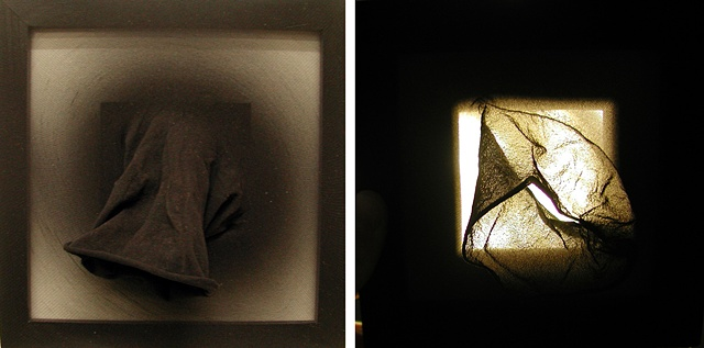 Light Dark Sculpture Paintings