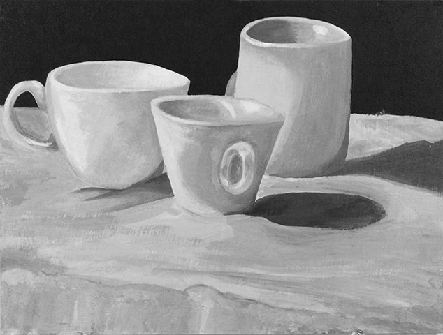 INTRODUCTION TO PAINTING: Monochrome Still Life