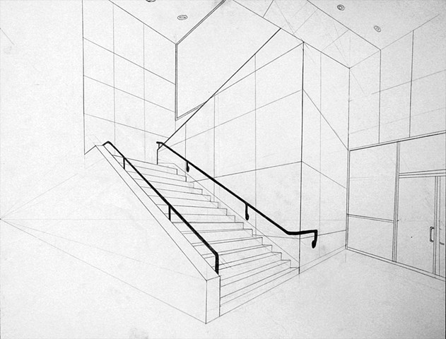 DRAWING II:  Two-Point Perspective Drawing