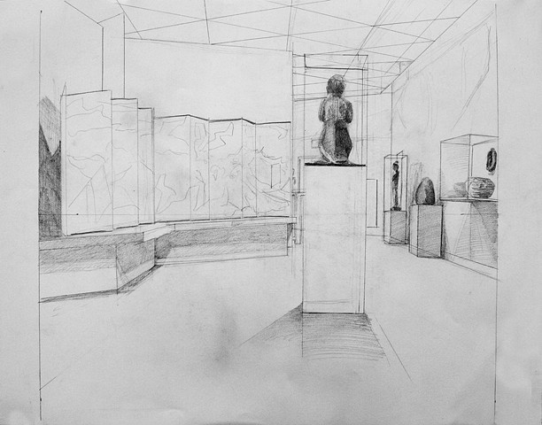 DRAWING II: Multiple-Point Perspective Drawing
