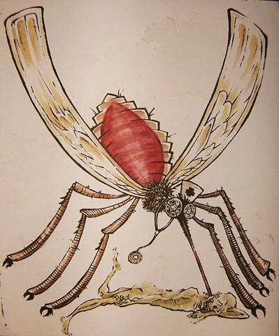 doctor zombie mosquito