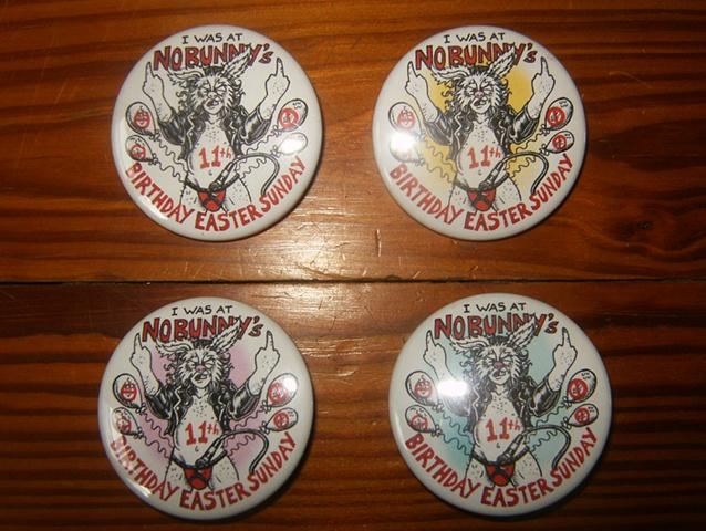 Nobunny, No Bunny, No Bunny's 11th birthday, baltimore folk, Nobunny cartoon, Nobunny art