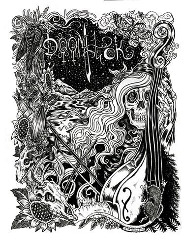 Doom Fuck  Album Design