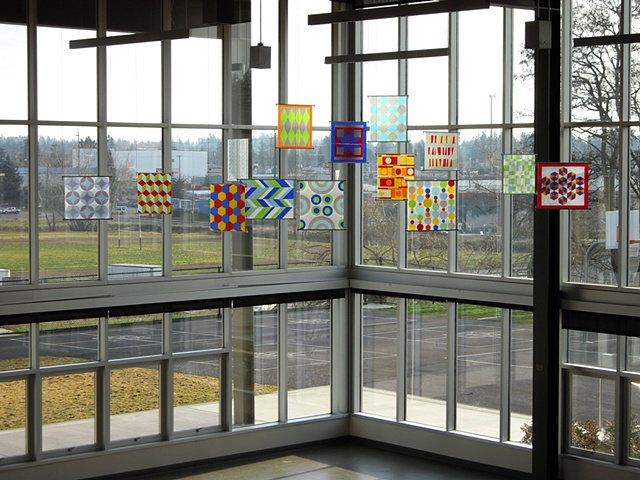 Installation in Gray Middle School, Tacoma, Washington