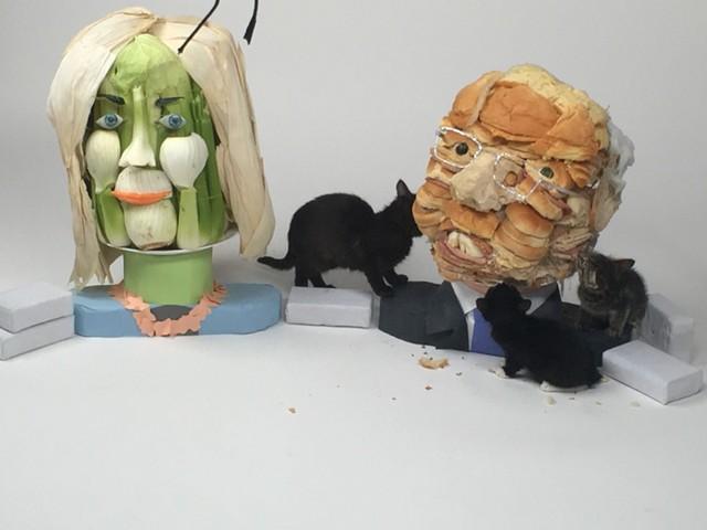 Bernie Sandwiches/more cat video