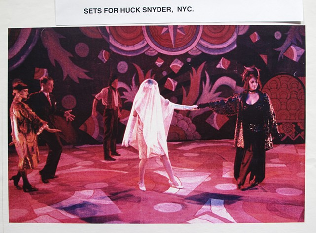 Maybe Its Cold Outside. John Kelly Dance. Huck Snyder Set Designer
