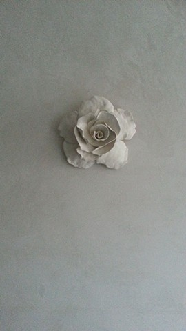 Porcelain Wall Flowers
