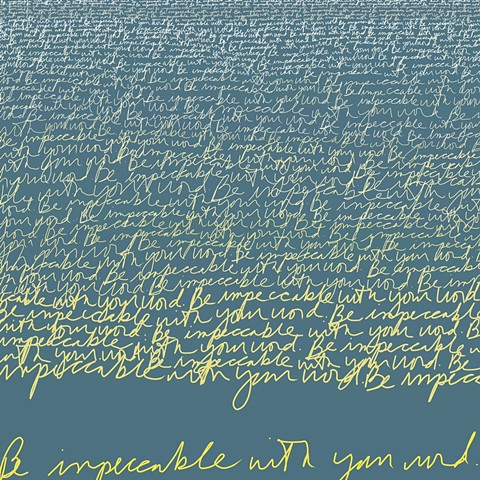 iPad Art, digital art, ArtRage, Text Drawings