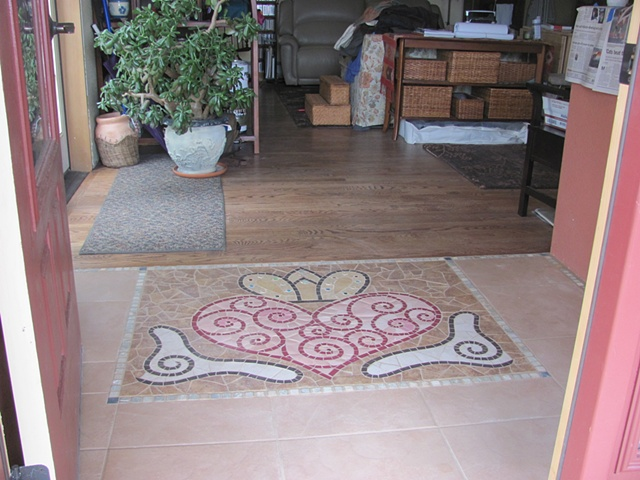Celtic Mosaic Entryway