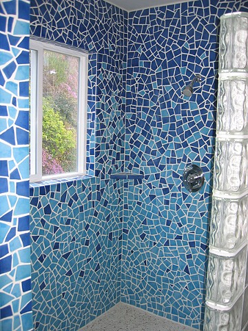 Ocean Shower Surround