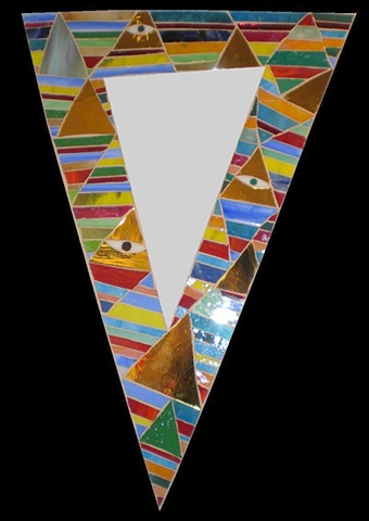 Klimty Triangle Mirror