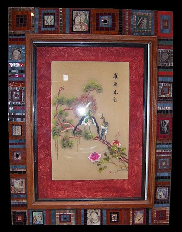 Asian Mosaic Frame