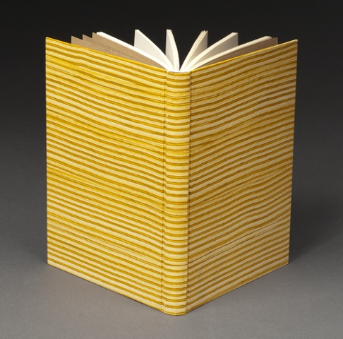 Rounded Spine Binding with Pastepaper Cover