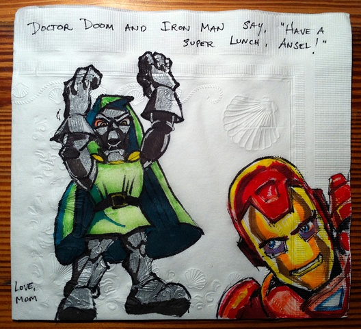 Dr. Doom and Iron Man